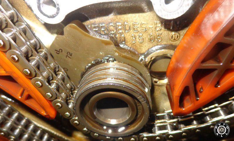 Замена цепей и ремней ГРМ на автомобиле Мерседес