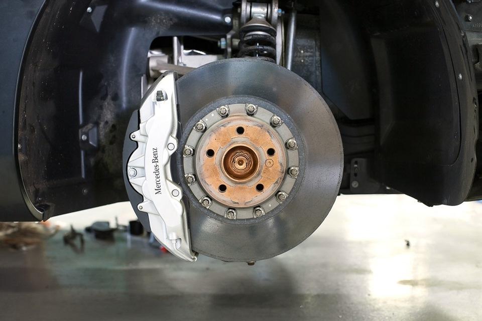 Ремонт тормозной системы автомобилей Мерседес